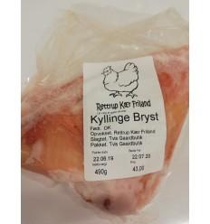 Kyllingebryst, frilandskylling, Rettrup Kær, 500-549 gram
