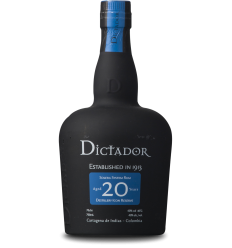Dictador 20 Years, 70 cl.