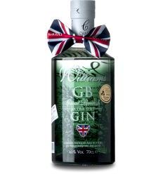Williams GB Extra Dry Gin 40%, 70 cl.