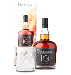Dictador Amber, 100 months aged, 70 cl. 40%