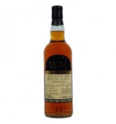 Glen Moray 2007 Single Malt 1st fill Bourbon Barrel 9 år whisky 48% 70 cl.