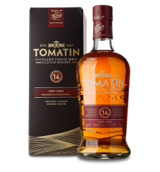 Tomatin 14 år whisky