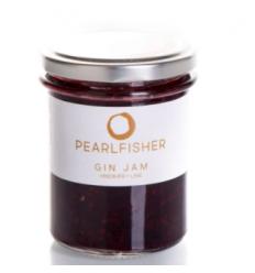 Pearlfisher Gin Jam med Hindbær & Lime