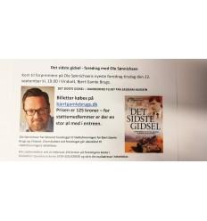 One Dollar Man - foredrag med Ole Sønninchsen - 30. januar 2020 kl 19, 1 billet