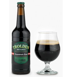 Trolden Bryghus: Steamtrain Stout 50 cl.