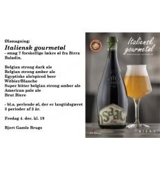 Ølsmagning Italiensk Gourmet-øl 4. dec. kl. 19, 1 person
