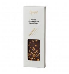 Xocolatl chokoladebar med mørk chokolade og hasselnødder