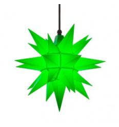 40 cm Grøn - Plast - Usamlet - Herrnuterstjerne