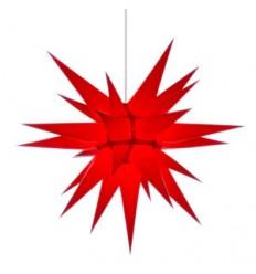 60 cm rød - Papir - Usamlet - Herrnuterstjerne