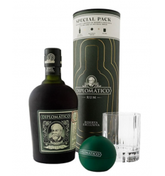 Diplomático  Exclusiva Rom Special Pack (Glas og isterningform)