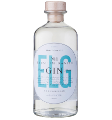 ELG Gin No. 1, Premium Dansk Gin