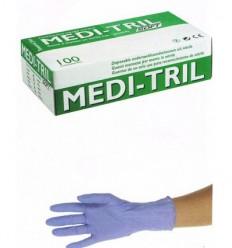 NITRIL SOFT, X-SMALL, PUDDERFRI, 100 STK.