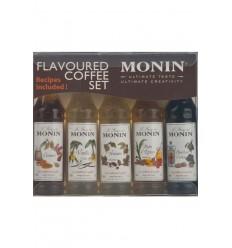 Monin Sirup Kaffe, 5 x 5 cl.