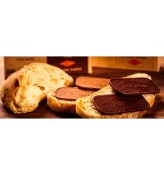 Økoladen Økologisk Mørk Pålægschokolade, 7 tykke stykker, 70% kakao