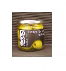 Grønne Gordal Oliven uden sten, 1 glas
