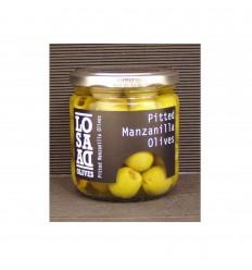 Oliven Manzanilla uden sten, 1 glas