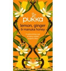 Pukka Lemon Ginger & Manuka Honey tea  Øko