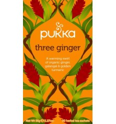 Pukka Three Ginger tea  Øko