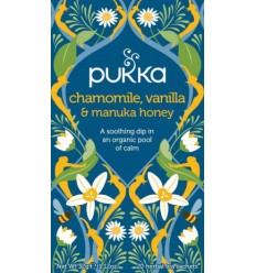 Pukka Chamomile, Vanilla & Manuka honey  tea  Øko