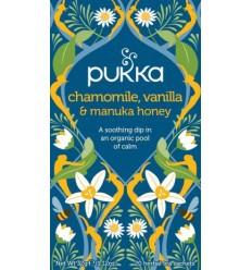 Pukka Chamomile, Vanilla & Manuka honey  tea  Øko