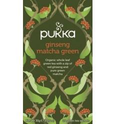 Pukka Grøn te Ginseng Matcha Green Tea  Øko