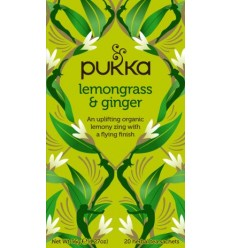 Pukka Lemongrass & Ginger Tea  Øko