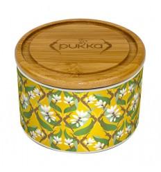 Pukka Keramik-krukke med 10 tebreve Turmeric Gold Te