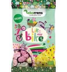 Like my Bike - skumcykler (frugt og bær smag) 80g Ø