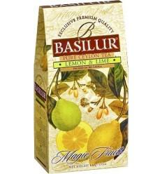 Basilur Lemon og Citron Te, 100 g