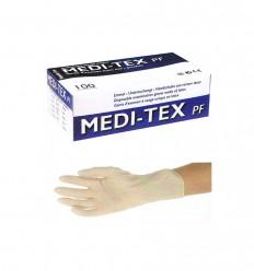 LATEX-HANDSKER, X-SMALL, PUDDERFRI, 100 STK.