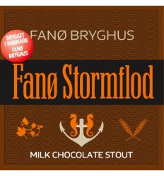 Fanø Stormflod, Milk-Chocolate Stout, 5,8 %, 50 cl.