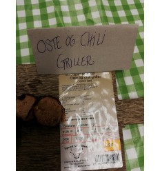 Chili-Oste Grill-Pølser, Spjarupgaard