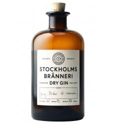 Stockholms Bränneri Dry Gin, 1/2 ltr., 40%, Økologisk