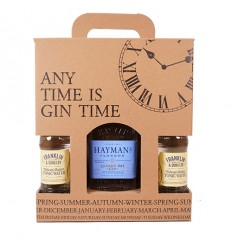 Gin Time - Hayman's London Dry Gin & 4 x Indian Tonic