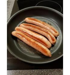 Frankfurter-Pølser, med Ramsløg, 500 gram, frost, fra frilandsdyr, Rettrup Kær