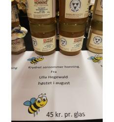 Krydret sensommer Honning fra Ulla Hegewald, lille glas